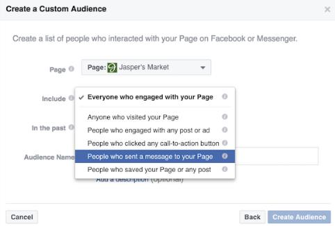 Таргетированная рассылка сообщение в Фейсбуке
