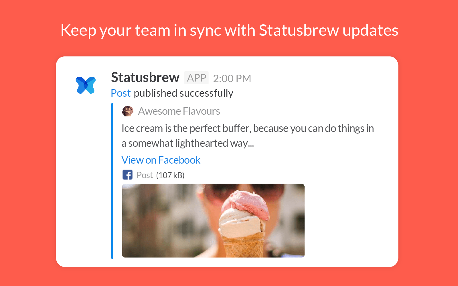 Publish Post Published Slack Notification