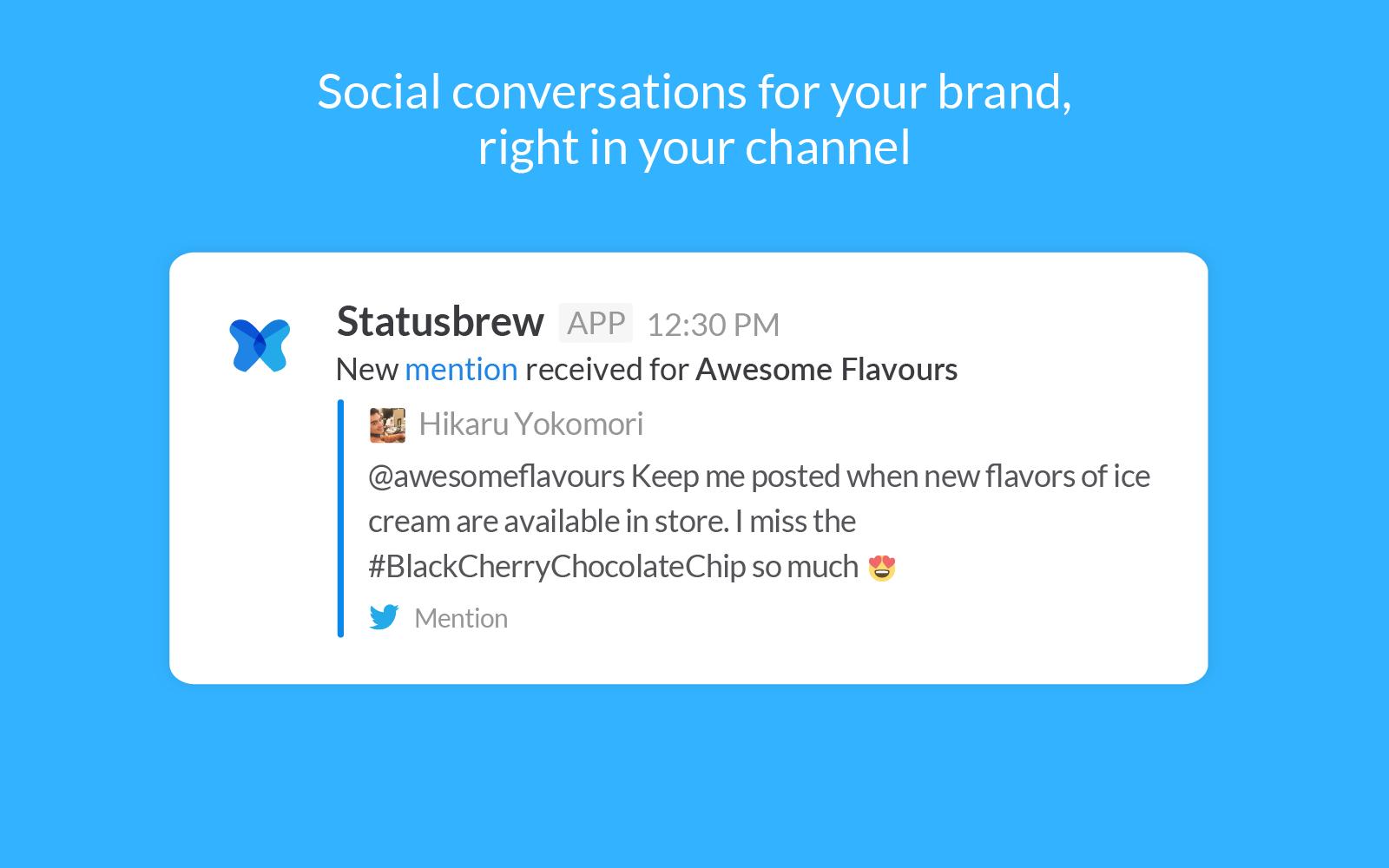 Slack for Brand Advocacy