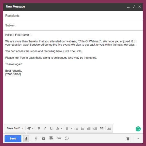 Convert via Successful Webinars