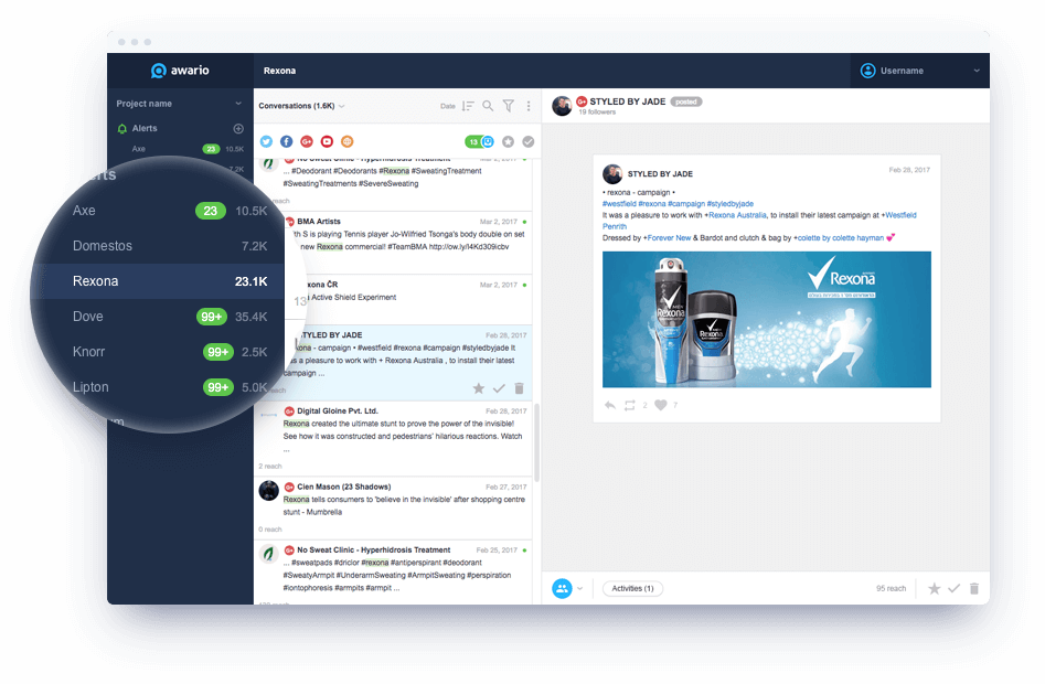 Awario - Social Media Monitoring Tool