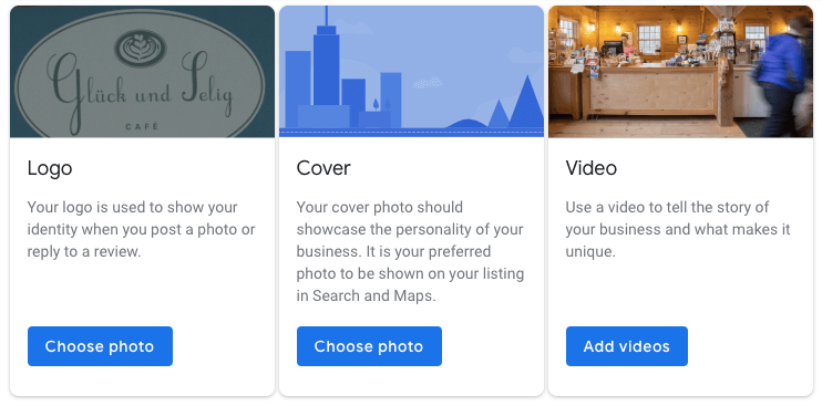 why to use photos for google my business