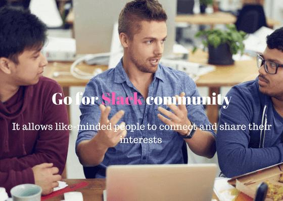 Go for Slack Community