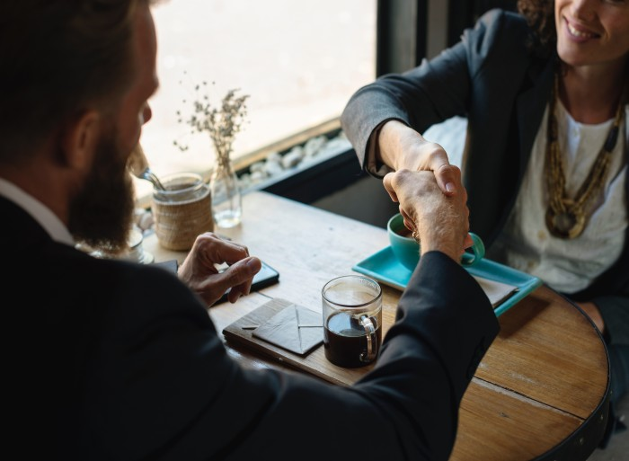 Create material for sales team to close business deals