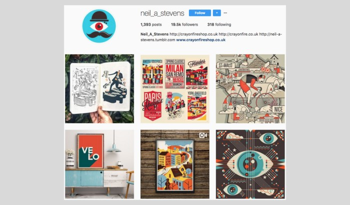 neil stevens instagram profile