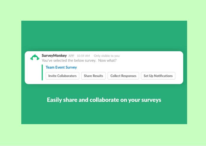 SurveyMonkey and Slack integration