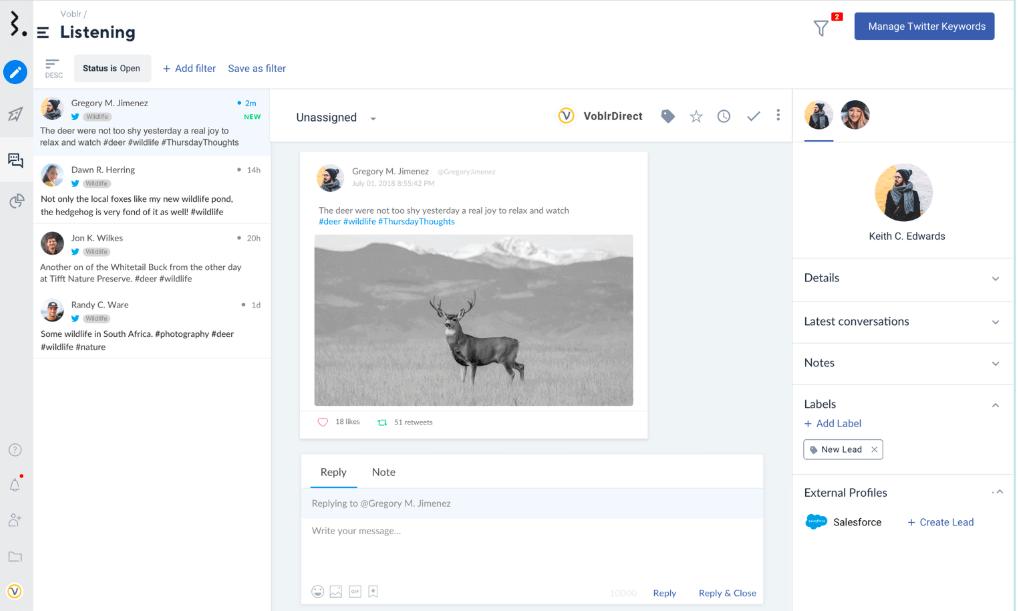 Statusbrew - social listening and monitoring