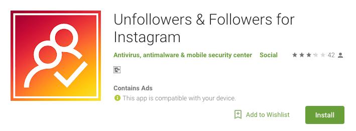 Unfollowers & Followers for Instagram