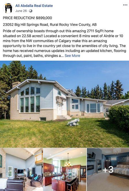 Facebook Real Estate Listings