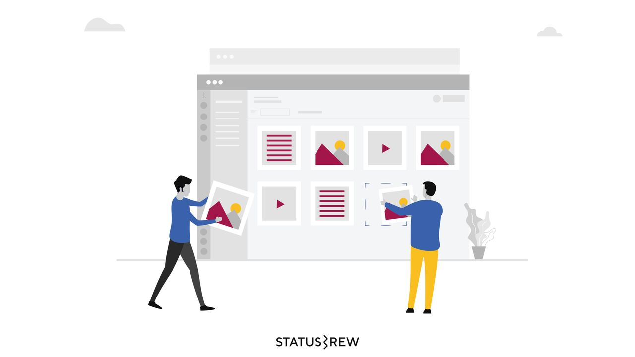 Managing and Sharing Visual Content Made Easier with Statusbrew's Content Pool