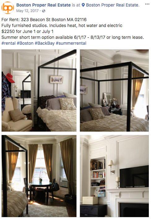 real estate facebook ads transparent ad copy