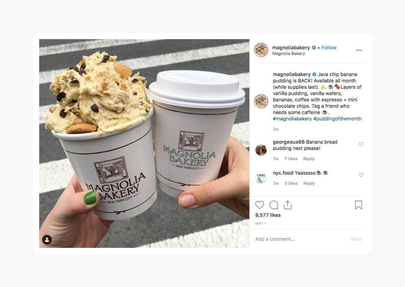Social Media post ideas for your local bakery