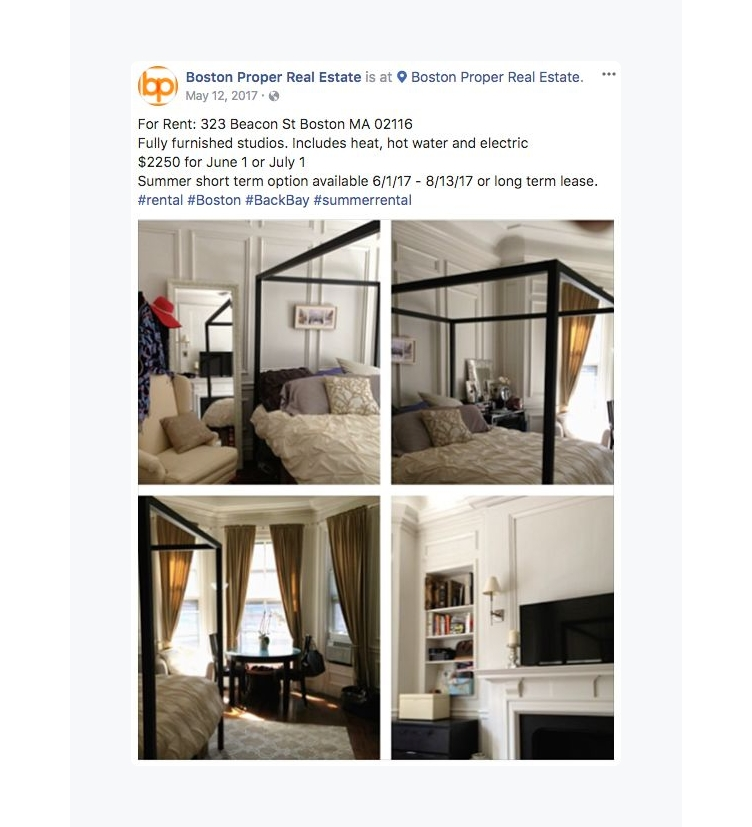 real estate facebook ads transparent ad copy