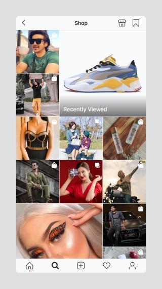Instagram-Shopping-feed