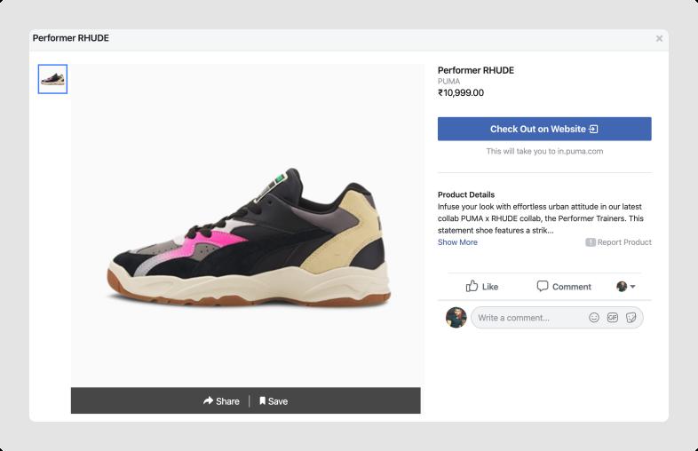 Puma-Facebook-Shop-Product-details