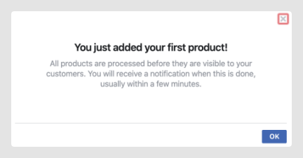 add products to facebook store review