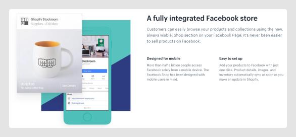 Shopify & Facebook Shop