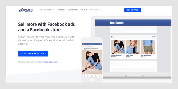 BigCommerce & Facebook Shop