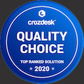 Statusbrew - Crozdesk Quality Choice Badge