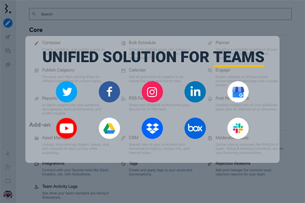 unified solution for teams