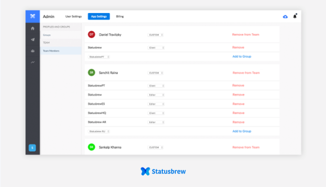 Groups And Organizations: Statusbrew For Agencies