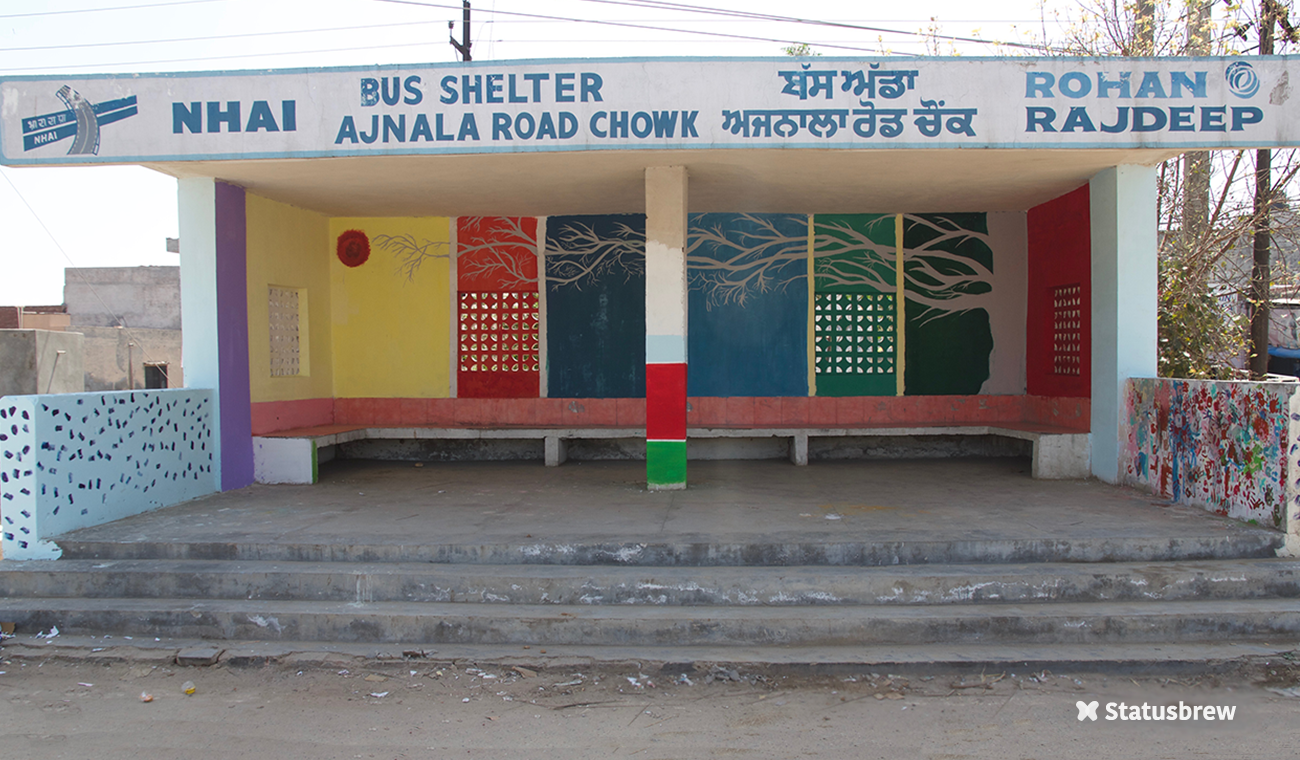 The Transformed Bus Station After Our Social Drive
