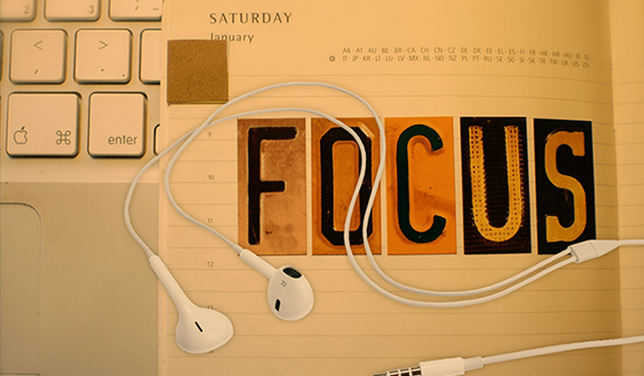 music improves focus