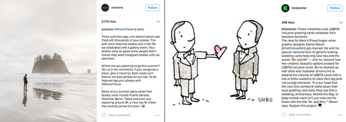 Micro-blogging on Instagram for Business