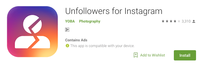 Top Instagram Followers & Unfollowers Tracking Apps which are unsafe